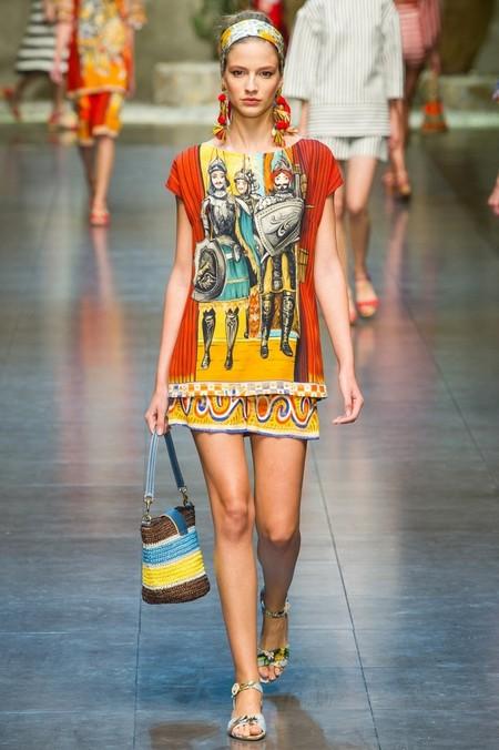 Сицилия от Dolce & Gabbana - женская коллекция весна-лето 2013 — фото 24