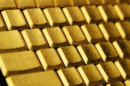 Золотая клавиатура, самая дорогая. Но как по мне, не самая интересная
