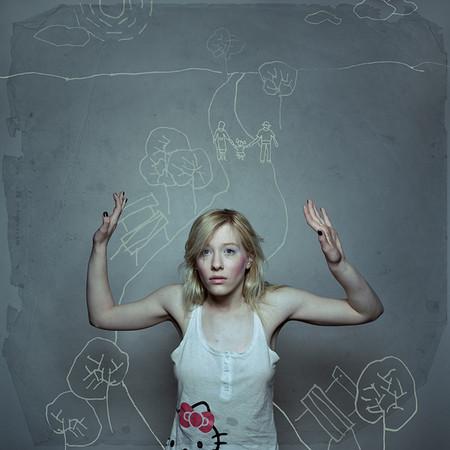 Интересный школьный альбом от фотостудии «Слон» – дорисованная мелом реальность — фото 19