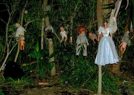 Остров кукол в Мексике – место не для детей — фото 12