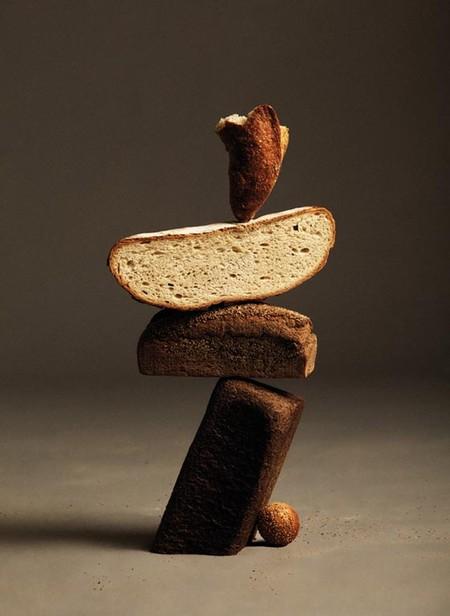 Парящий хлеб в сбалансированных «скульптурах» — фото 4