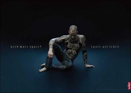 Татуировка в рекламе – тело как рекламная площадь — фото 9