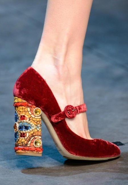 Dolce & Gabbana осень-зима 2013-2014 – когда всего слишком много — фото 95