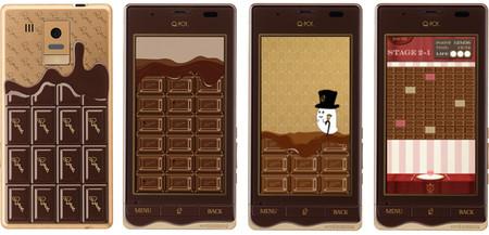 Интерфейс тоже плиточно-шоколадный