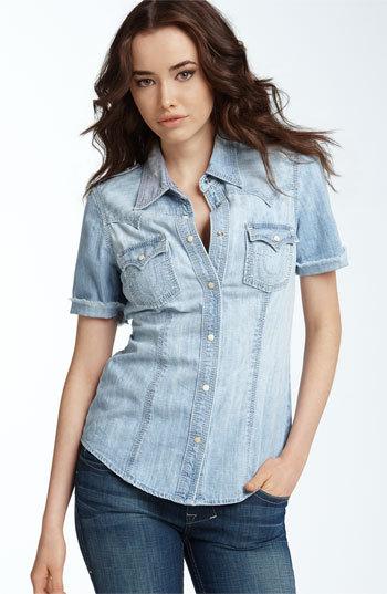 Ода джинсовой рубашке – сочиняем образы — фото 3