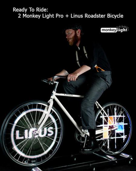 Велосипед с самой крутой подсветкой - Monkey Light Pro — фото 11