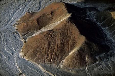 """Перу, плато Наска, """"космонавт"""""""