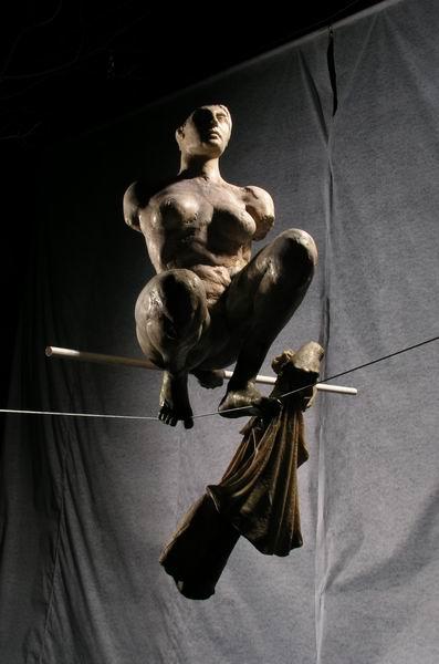 Скульптуры в воздухе от Jerzy Kedziora — фото 17