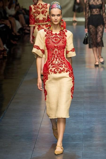 Сицилия от Dolce & Gabbana - женская коллекция весна-лето 2013 — фото 55