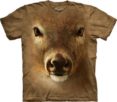 Настоящий звериный принт на футболках The Mountain — фото 4