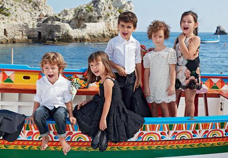 Самым любимым – детская коллекция Dolce&Gabbana весна-лето 2013 — фото 9