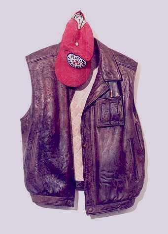 Куртка и кепка… из дерева