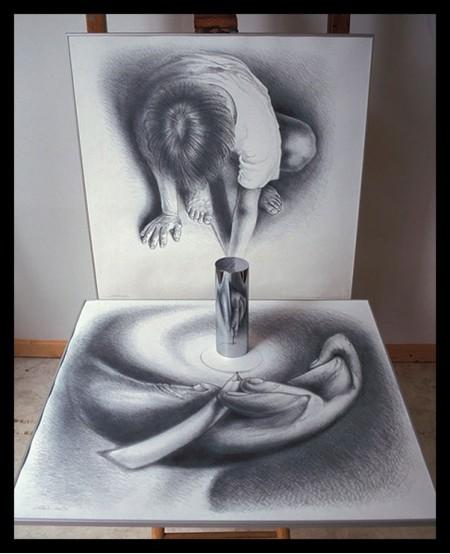 Анаморфные картины – загадки Иштвана Ороса — фото 21