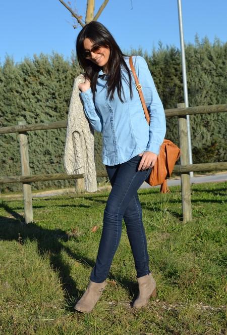 Ода джинсовой рубашке – сочиняем образы — фото 14