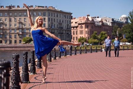 Ольга Мезенцева, классический балет, Петропавловская крепость