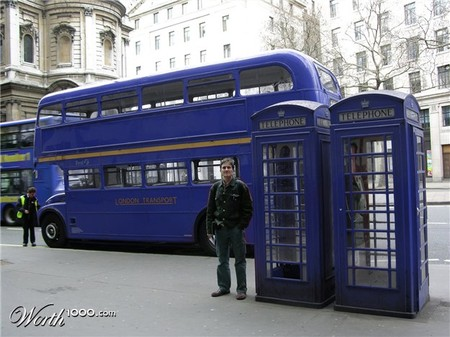 Голубой Лондон
