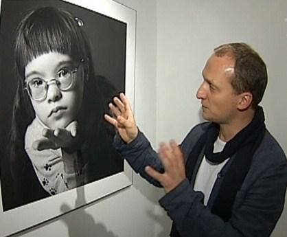На выставке было показано 44 черно-белых фото