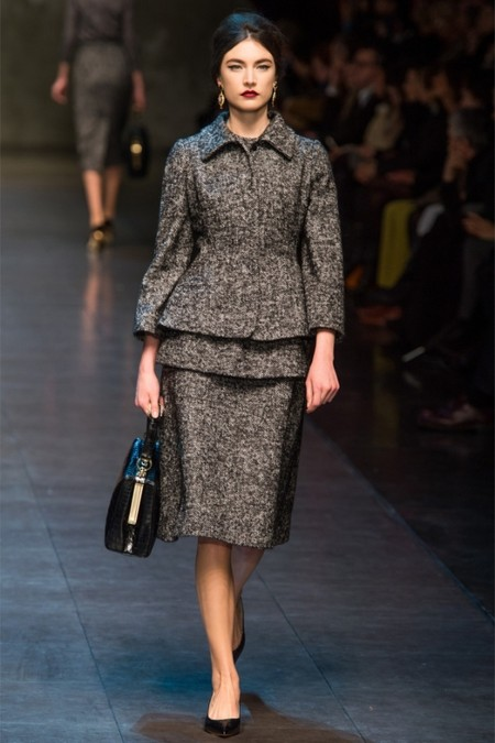 Dolce & Gabbana осень-зима 2013-2014 – когда всего слишком много — фото 24