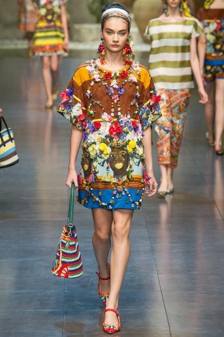 Сицилия от Dolce & Gabbana - женская коллекция весна-лето 2013 — фото 15