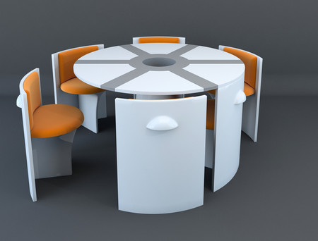 Еще один интересный проект Владимира Томилова — мебель LOC