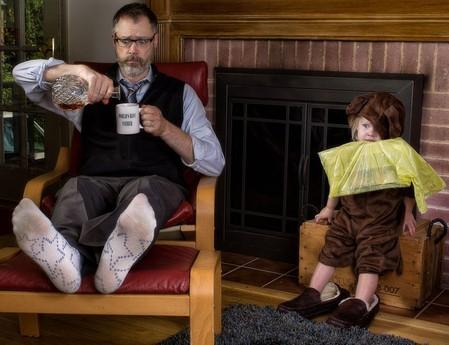 Папа и дочь – истории в картинках. Фото Дэйва Энглдау — фото 7