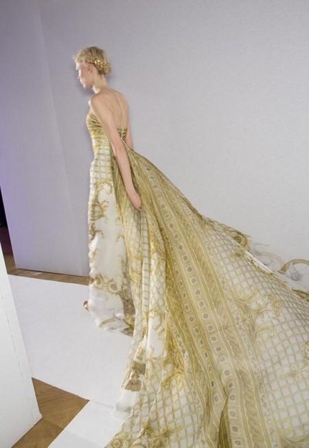 Весенняя коллекция 2013 роскошных платьев Zuhair Murad — фото 40