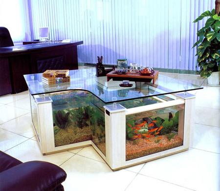 Аквариум – не только домик для рыб. Необычные и разные, маленькие и огромные аквариумы – солисты в интерьере — фото 12