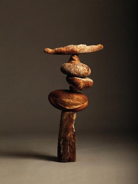 Парящий хлеб в сбалансированных «скульптурах» — фото 3