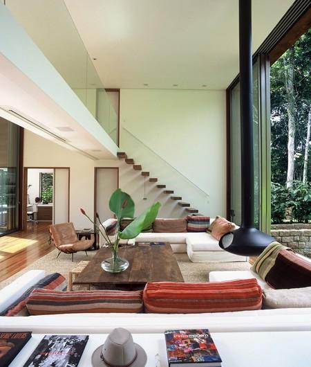 Потолочный камин – самый современный и настоящий домашний очаг — фото 22