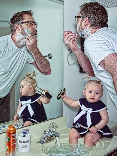 Папа и дочь – истории в картинках. Фото Дэйва Энглдау — фото 16