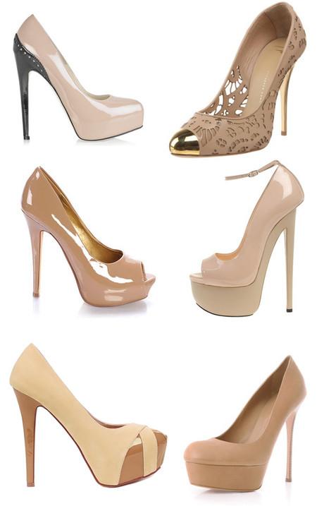 Туфли цвета «нюд» - новая классика! С чем носить, как комбинировать — фото 91