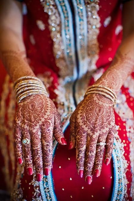 Менди – украшение не только для индийских принцесс — фото 17