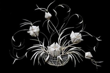 Перламутровая красота из … рыбьих косточек. Творчество Елены Журавской — фото 9
