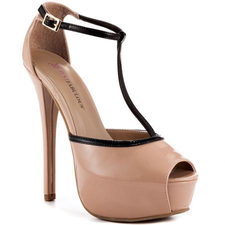 Туфли цвета «нюд» - новая классика! С чем носить, как комбинировать — фото 70