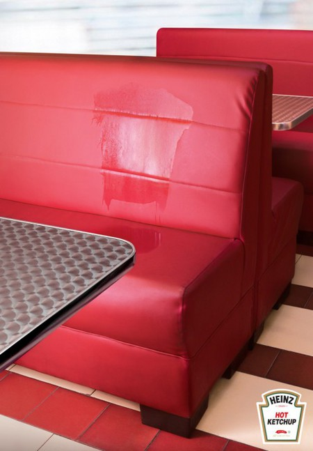 Реклама кетчупа Heinz – сразу понятно, что он острый! — фото 2