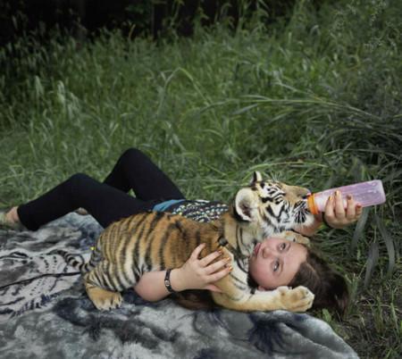 Фотопроект Amelia's world – животные в мире одной девочки — фото 6