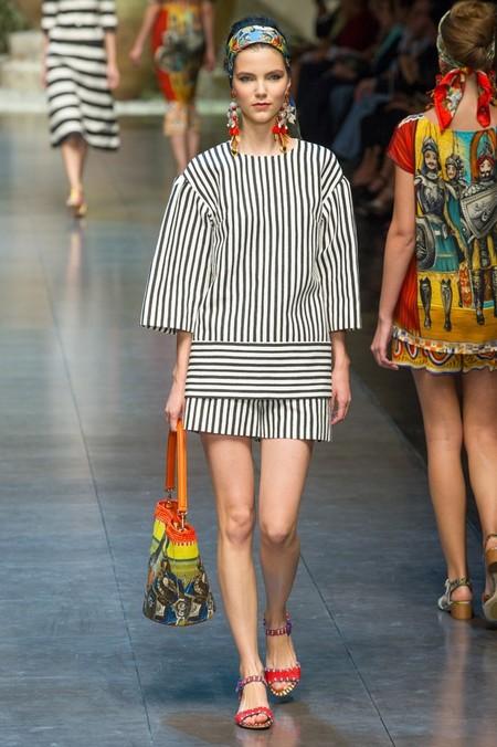 Сицилия от Dolce & Gabbana - женская коллекция весна-лето 2013 — фото 83