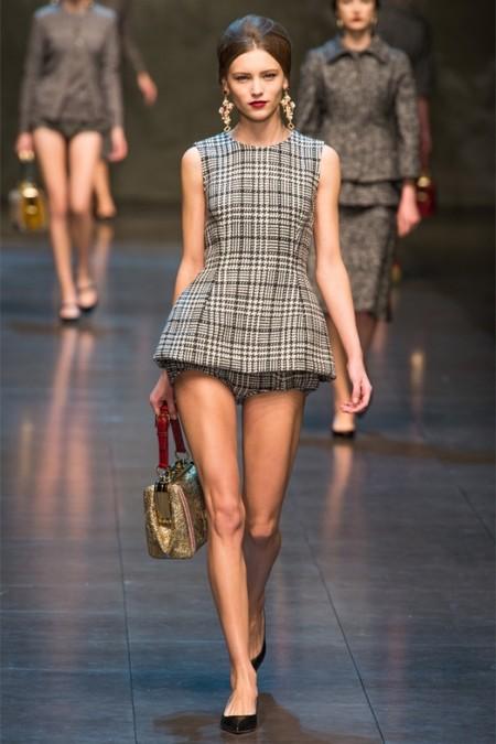 Dolce & Gabbana осень-зима 2013-2014 – когда всего слишком много — фото 23