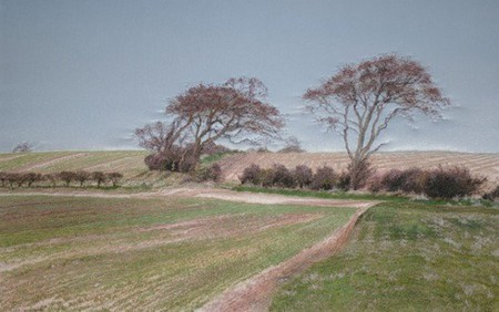 Вышитые пейзажи Джилл Дрэпер (Jill Draper) — фото 21