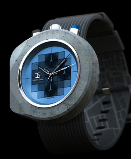 Бетонные часы для сильных и твердых — фото 6
