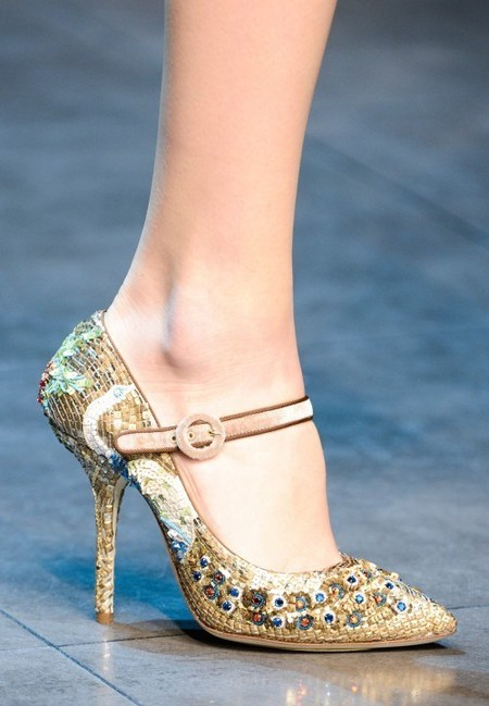 Dolce & Gabbana осень-зима 2013-2014 – когда всего слишком много — фото 105