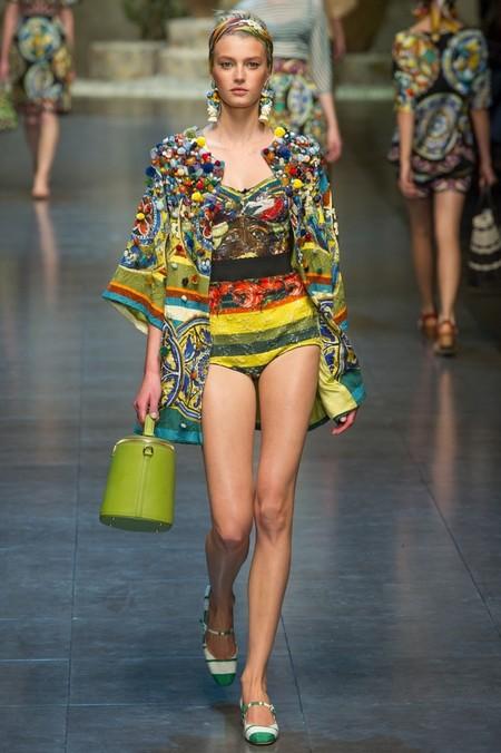 Сицилия от Dolce & Gabbana - женская коллекция весна-лето 2013 — фото 58