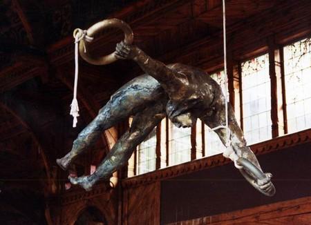 Скульптуры в воздухе от Jerzy Kedziora — фото 13