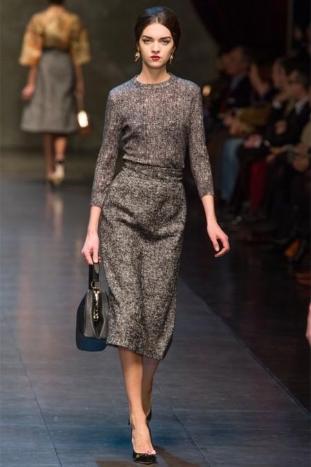 Dolce & Gabbana осень-зима 2013-2014 – когда всего слишком много — фото 21