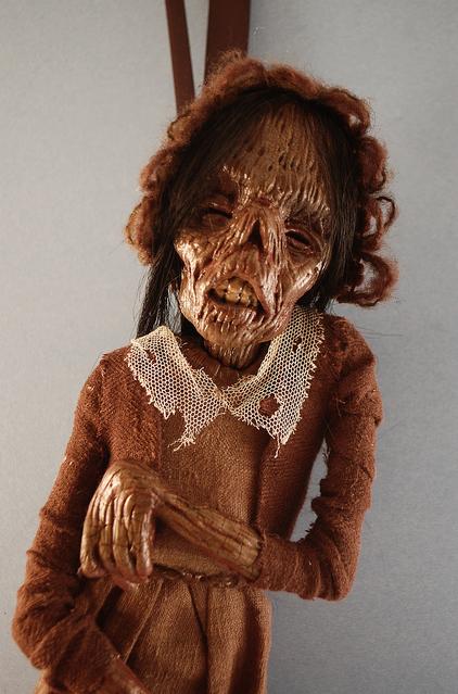 Зомби, монстры, вампиры и прочие куклы Камиллы Млынарчик — фото 30