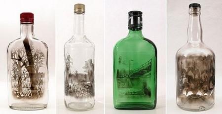 Дымный мир внутри бутылки – работы Джима Динджилиана — фото 12