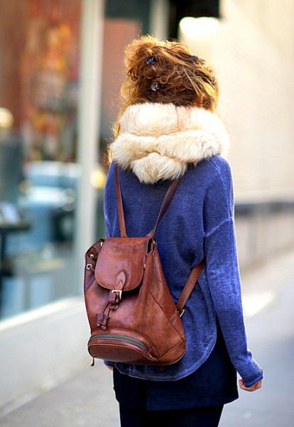 Рюкзаки в городе – выбираем свой и модничаем )) 2013 – год удобных трендов — фото 40