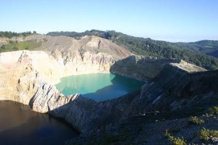 Вулкан Келимуту и 3 разноцветных озера — фото 13
