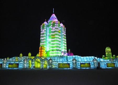 Фестиваль Ледяных дворцов в китайском Харбине – зимняя сказка — фото 18