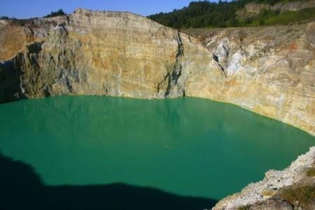 Вулкан Келимуту и 3 разноцветных озера — фото 15
